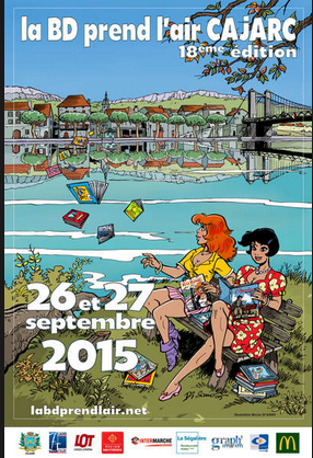 festival BD CAJARC 2015 SEP
